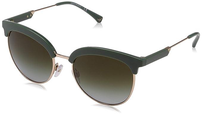 9b6d06a384d3 Giorgio Armani Mens Sunglasses Black Matte Green Acetate - Non-Polarized -  56mm