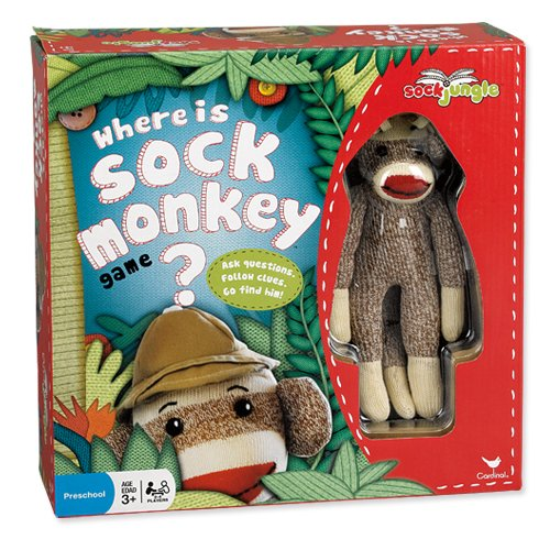 Where Is Sock Monkey Board Game ()