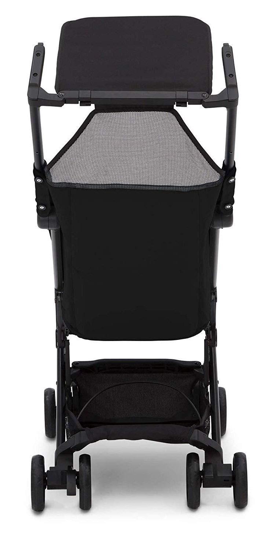 The Clutch Stroller by Delta Children - Lightweight Compact Folding Stroller - Includes Travel Bag - Fits Airplane Overhead Storage - Black by Delta Children (Image #5)