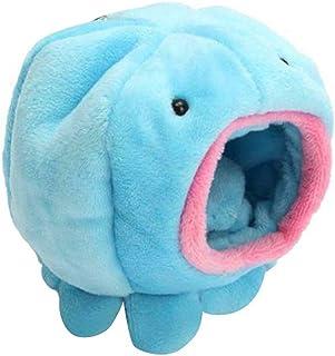 UEETEK Octopus Shape Rat Hamster Bird Squirrel Warm Soft Bed Pet Toy House Cage (Blue)