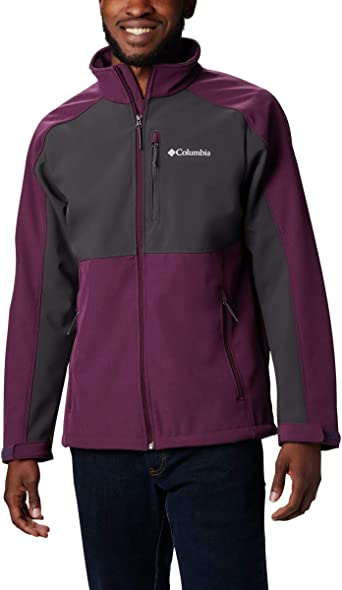 Columbia Mens Ryton Reserve Softshell Jacket Water /& Wind Resistant