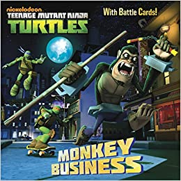 Monkey Business (Teenage Mutant Ninja Turtles) (Pictureback ...