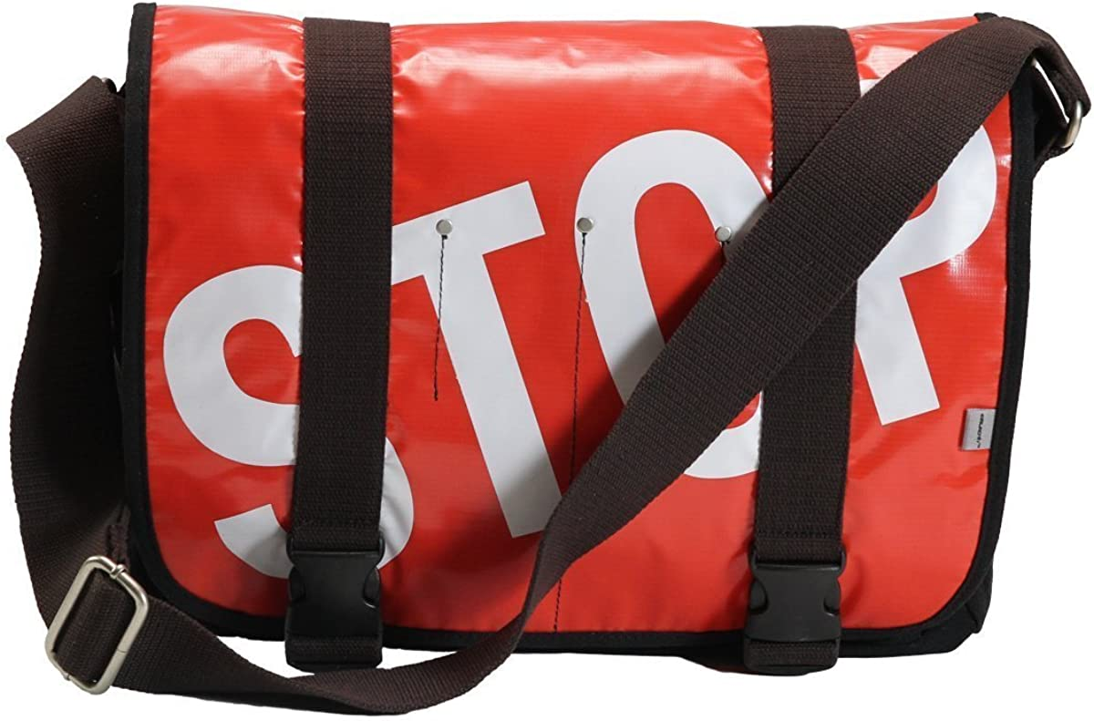 Ducti Laptop Messenger Bags - Utilitarian Electronics Accessories (Stop - Red)
