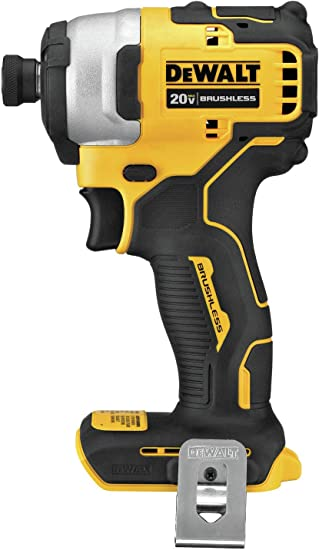 DEWALT ATOMIC 20V MAX Impact Driver, Cordless, Compact, 1/4-Inch, Tool Only (DCF809B)