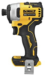 DEWALT DCF809B Atomic 20V Max Brushless Cordless Compact 1/4 In. Impact Driver (Tool Only)