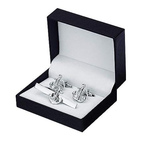HLD Classic Silver Ancla del Metal del Clip de Lazo Francesa ...