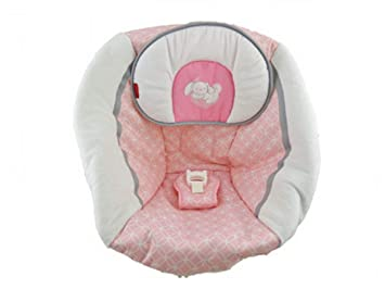 Fisher Price Starlight Infant Cradle N Swing Cdj49 Replacement Pad With Headrest Pink And