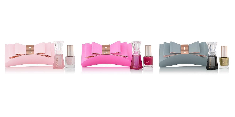 d57bd72898a4c1 Ted Baker Sweet Treats Bow Trio Gift Set - 3 x 5 ml EDT + 3 x 5 ml Nail  Polish  Amazon.co.uk  Luxury Beauty