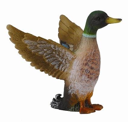 Amazon.com: CollectA Male Mallard Duck: Toys & Games