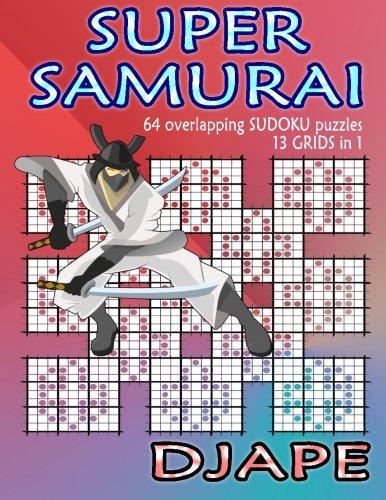 Super Samurai Sudoku overlapping puzzles