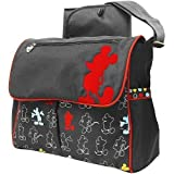 Disney-Classic Mickey Mouse Messenger Diaper Bag