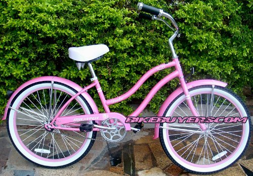 Micargi Tivola 1-speed 24 for women (Pink), Beach Cruiser Bike Schwinn Nirve Firmstrong Style by Micargi B00ABWZEGM