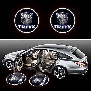 2Pcs LED Car Door Universal Wireless Car Door Light Courtesy Door Light Door Welcome Courtesy Puddle Light Fit for All Cars,Trucks,SUVs,Trailers,RVs etc (for Trax)