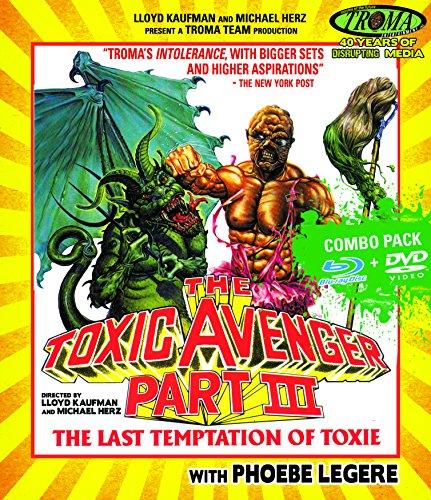 The Toxic Avenger Part III (Blu-ray + DVD Combo)