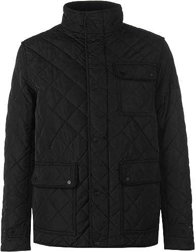 Firetrap Girls Bomber Jacket Long Sleeve Hooded Casual 2 Pockets Warm
