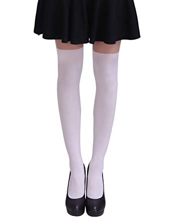 4c0edf859 HDE Women s Cute Tattoo Print Stockings Novelty Design Sheer Tights  Pantyhose - -  Amazon.co.uk  Clothing
