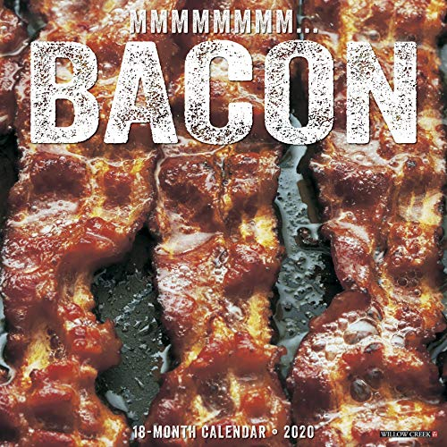 MMMMMMMM Bacon 2020 Wall Calendar by Willow Creek Press
