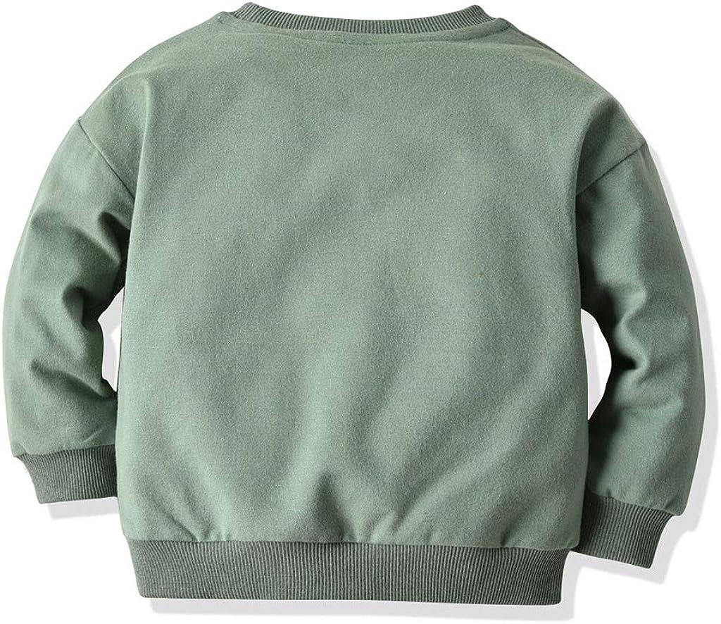 Baby Sweater,Toddler Kids Sweatshirt Animal Cartoon Print Shirt Tops Tee Clothes for 1-6Years,SIN vimklo