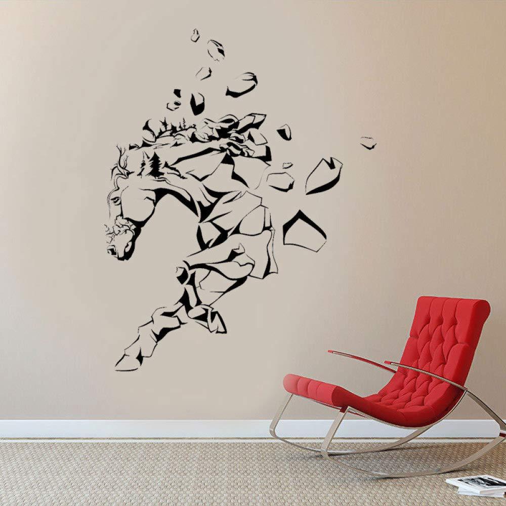 BFMBCH Vanishing Horse Creative Design Tatuajes de pared Vinilo ...