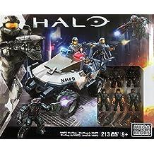 Mega Bloks Halo NMPD Warthog Set