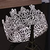 Quantity 1x European_ bride round head Crown Tiara Party Wedding Headband Women Bridal Princess Birthday Girl _Giftswhole_ ring Crown Tiara Party Wedding Headband Women Bridal Princess Birthday Girl G