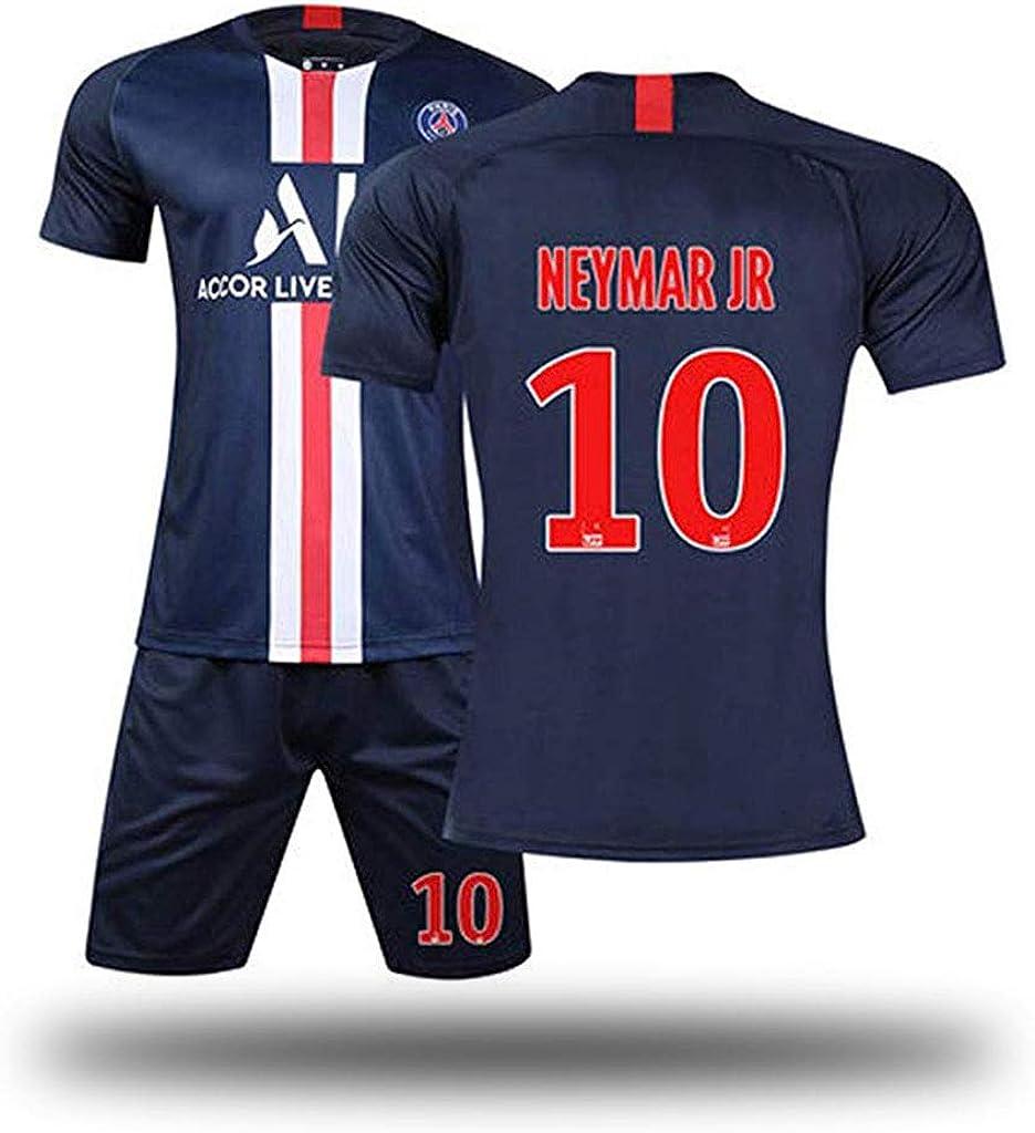 echtes Trikot-1-XS GSPURS Paris FC Kinder Jugend Neymar JR 10# Mbappe 7# Fu/ßball Uniformen und Shorts tolle Materialien