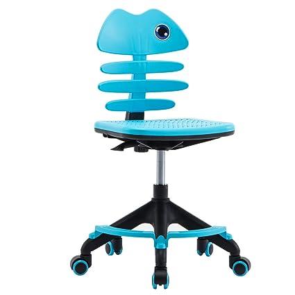 Excellent Amazon Com Lansen Furniture Children Desk Office Swivel Machost Co Dining Chair Design Ideas Machostcouk
