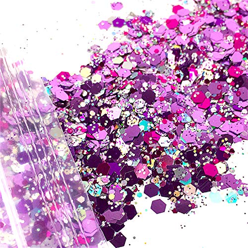 10g/Bag Festival Glitter Mixed Eyeshadow Make Up Glitter Mermaid Christmas Halloween Beauty Face/Body/Hair/Nail Cosmetic Glitter,02