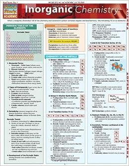 Inorganic Chemistry (Quick Study Academic)