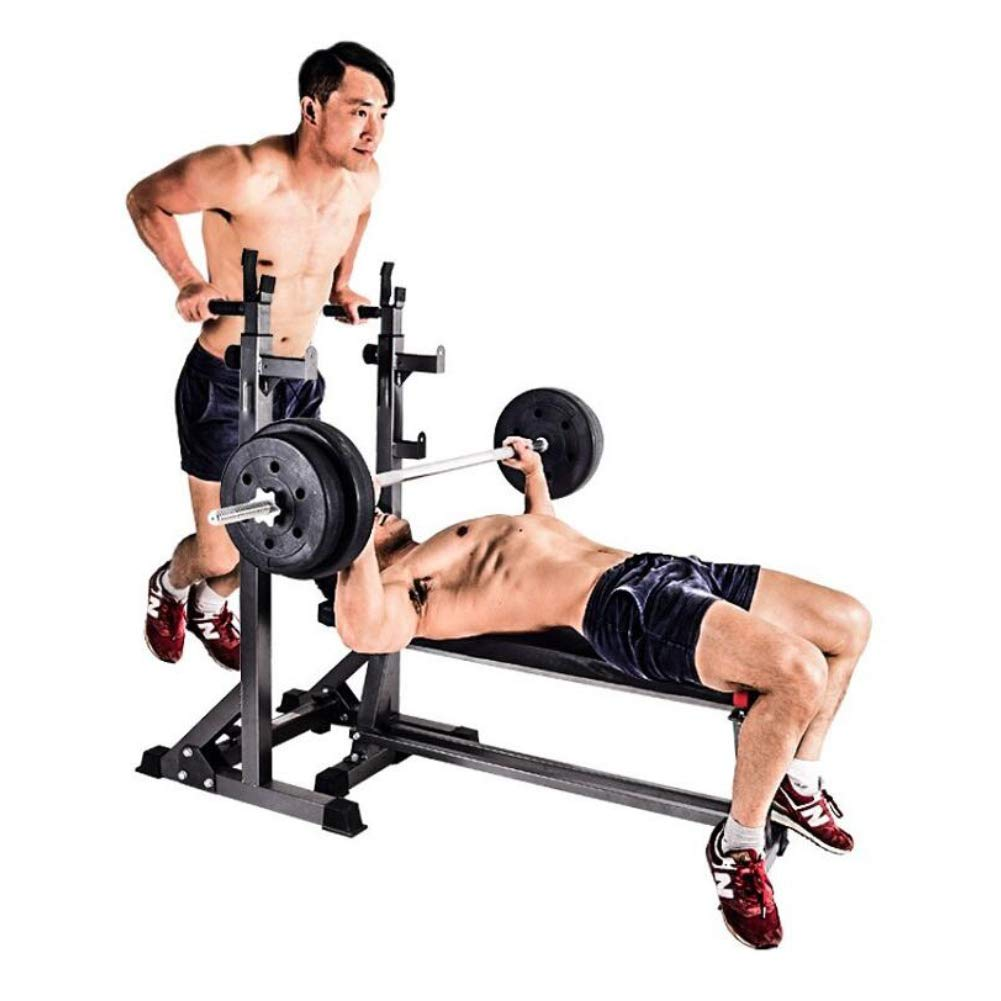 Squat Rack Adjustable Heavy-Duty Squat Rack Multi-Function Walk-in 300kg Maximum Load