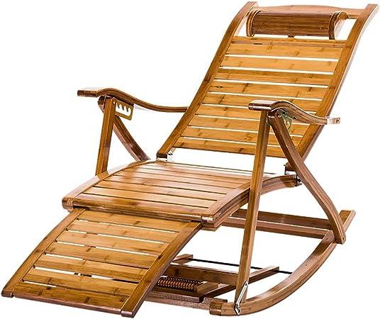 Xing Hua home Reclinables Chaise Longue Silla de jardín para Exterior sillón reclinable de Descanso para Adultos para Interiores Silla de Ocio para Uso doméstico Silla multifunción Multifuncional: Amazon.es: Hogar