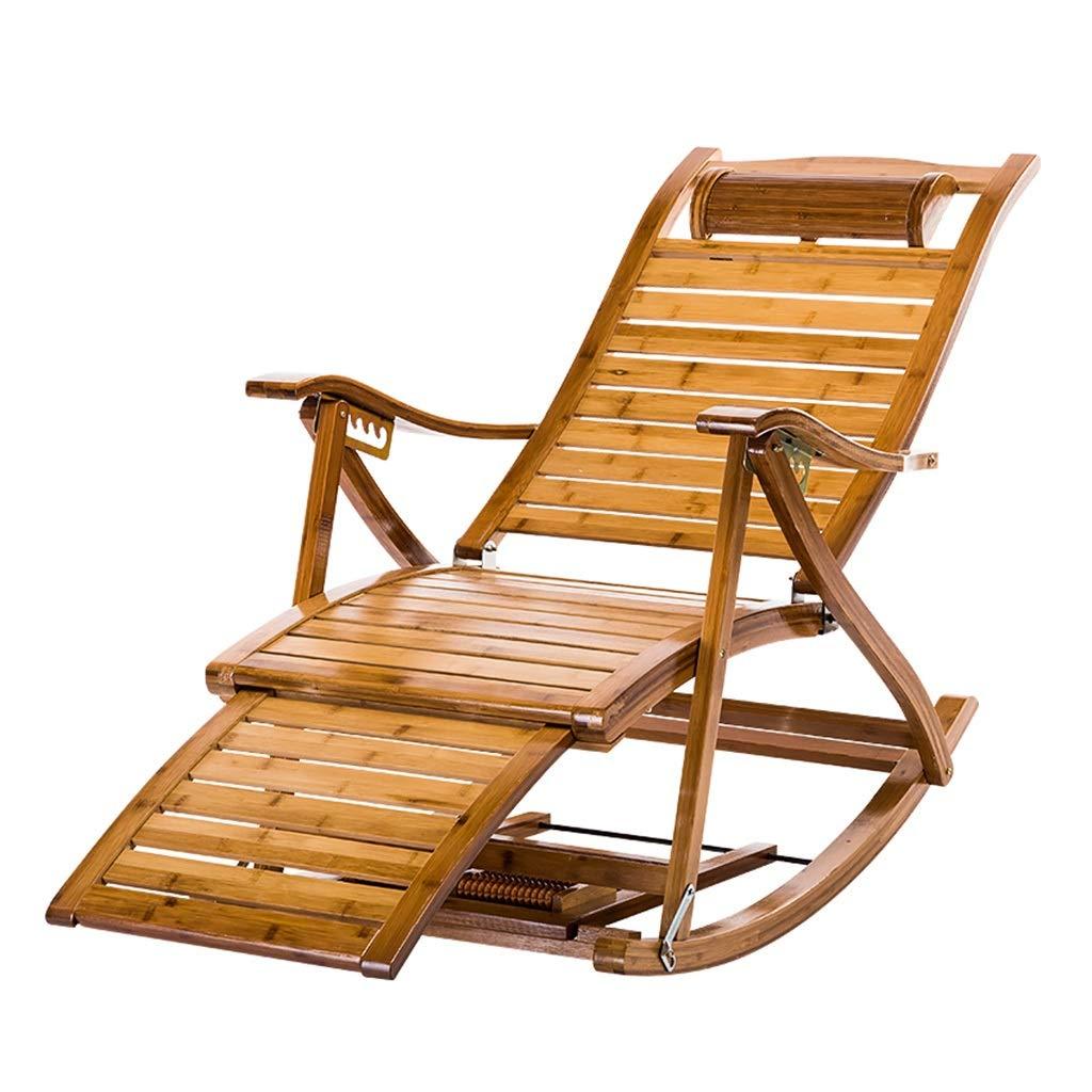 寝椅子屋外ガーデンチェア 屋内の大人の昼休みのリクライニングチェア 家庭用レジャーチェア多機能高齢者用チェア 折りたたみ式 耐荷重180kg (Color : Wood color, Size : 47*95*60cm) 47*95*60cm Wood color B07Q5YSJWV