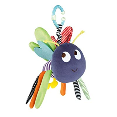 Myhouse Colorful Animal Bee Baby Plush Hanging Toys Baby Rattle Stroller Crib Toys : Baby
