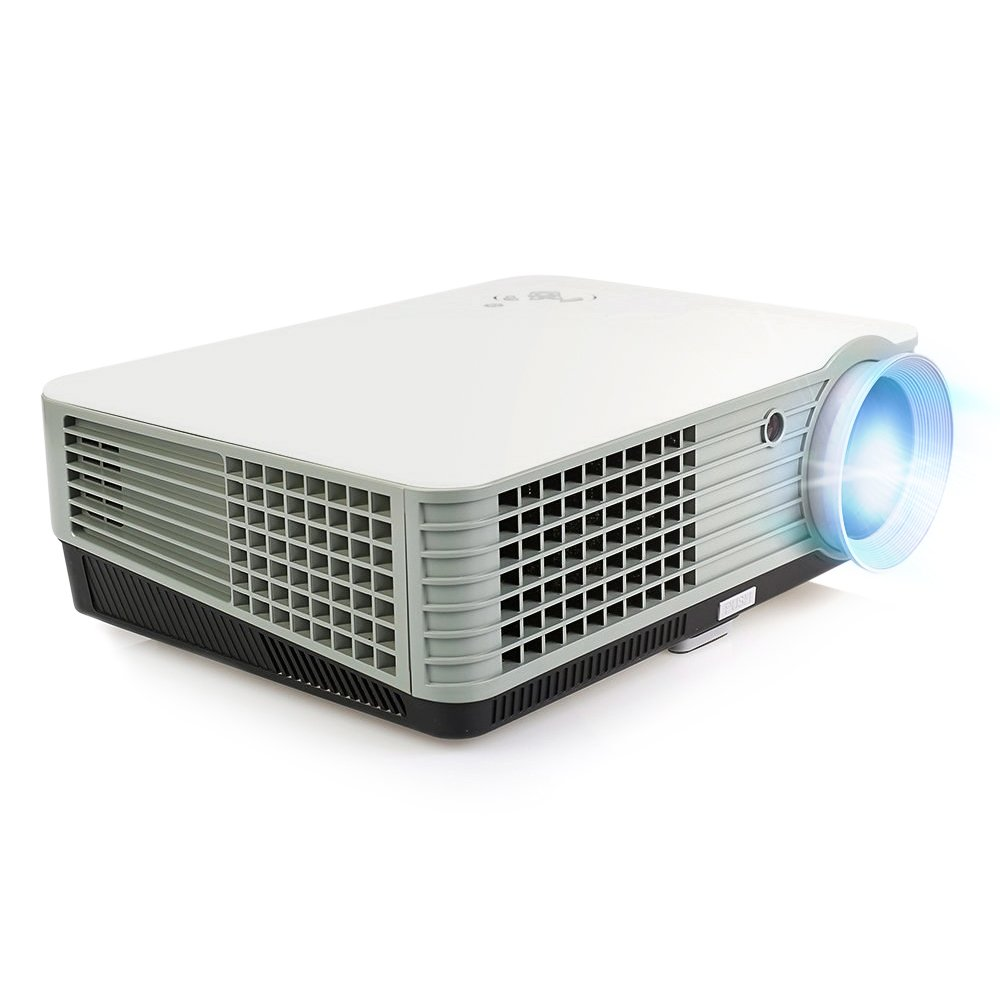 OEM H2 LED LCD (WVGA) Projector - US Version (Includes Warranty) - White/Grey (FP8048H2WG-IV)