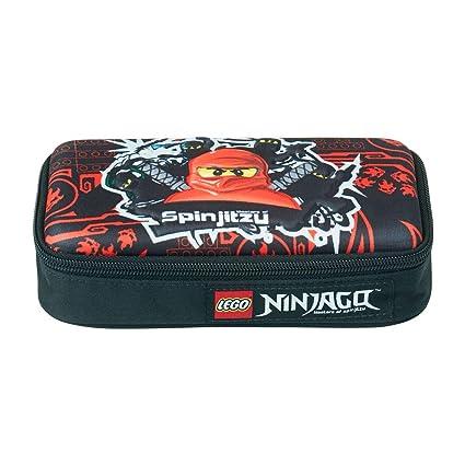 Lego – Ninjago escolar funda/estuche/3 D Pencil Case – Team Ninja