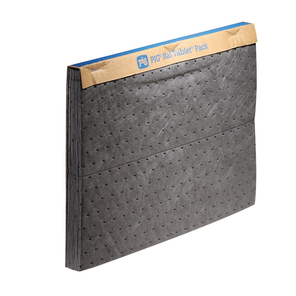 New Pig PM50024 Pegboard Garage Workshop Super Absorbent Mat – Perfect for Garage & Above Workbench – 10 Super Absorbent Pads