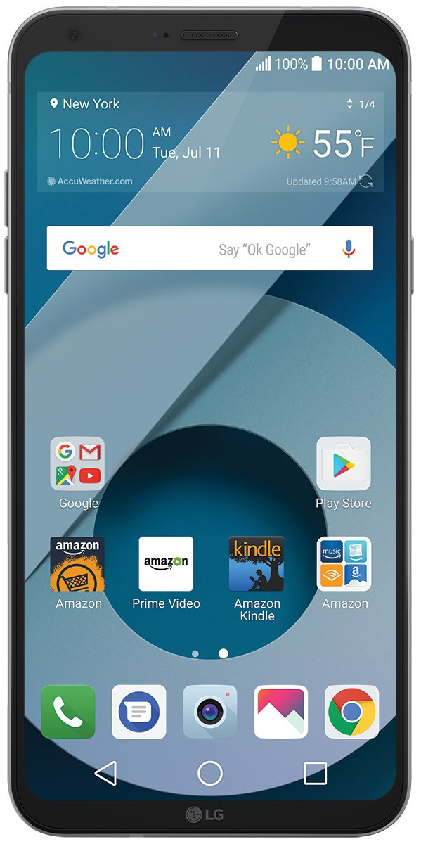 LG Q6 - 32 GB - Unlocked (AT&T/T-Mobile) - Platinum - Prime Exclusive by LG