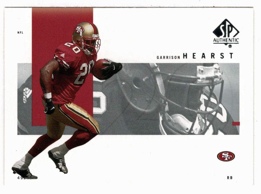 Football Card Garrison Hearst San Francisco 49ers 2001 Upper Deck SP Authentic # 78 Mint