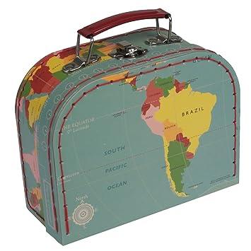dotcomgiftshop Mini Maletas Cajas de Almacenamiento Decorativas - Diseño a Elegir: Amazon.es: Juguetes y juegos
