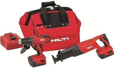 Amazon.com: HILTI 03497682 SFH 18 a y WSR 18-A 18-volt ...
