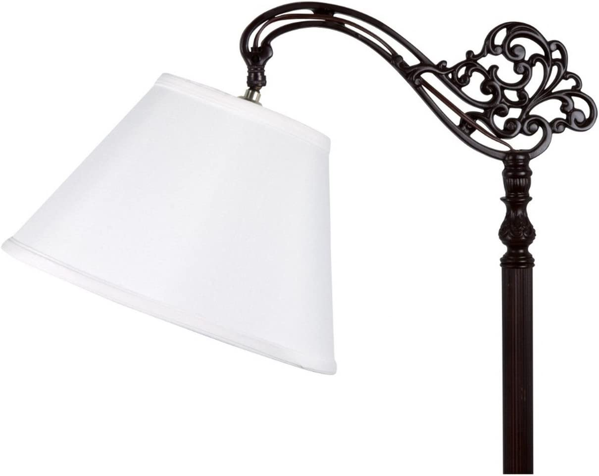 Upgradelights White 10 Inch Uno Lamp Shade Replacement 6x10x7.5