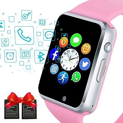 Amazon.com: Janker - Reloj inteligente con Bluetooth ...