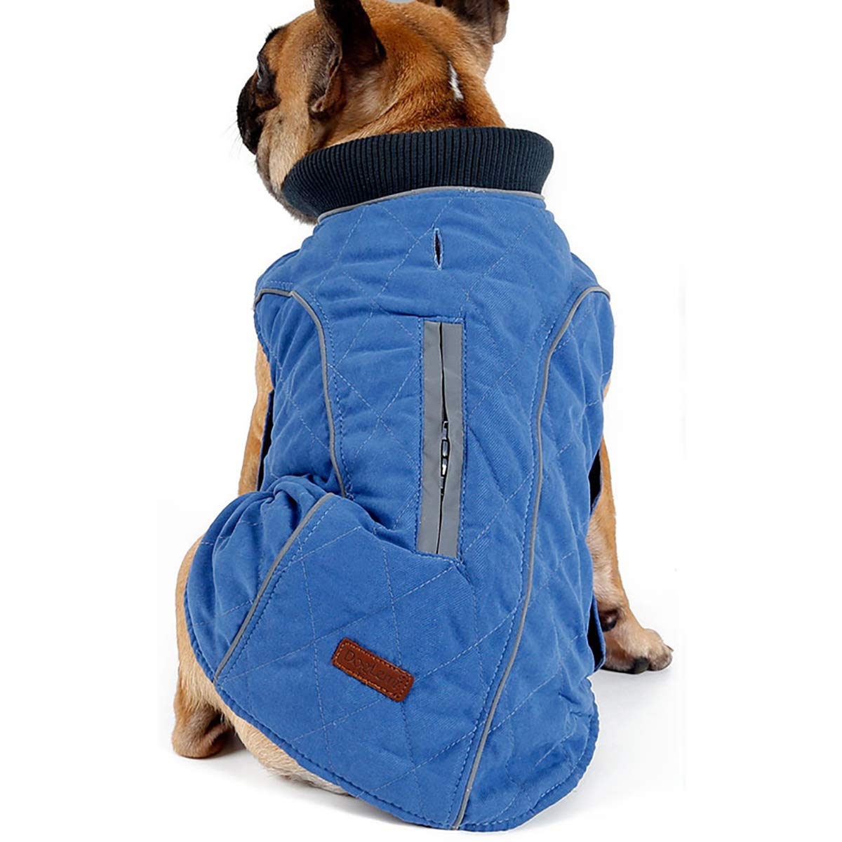 bluee XXXL bluee XXXL Winter Dog Outdoor Warm Clothing, Retro Style Warm Pet Clothes,bluee,XXXL