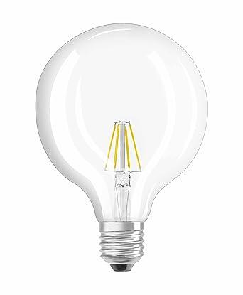 Osram, Bombilla LED Retrofit, transparente, E27, 7W Equivalente 60W, 220-