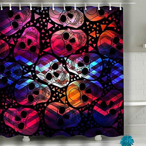 zexuandiy Beach Bathroom Decor Shower Curtain 60