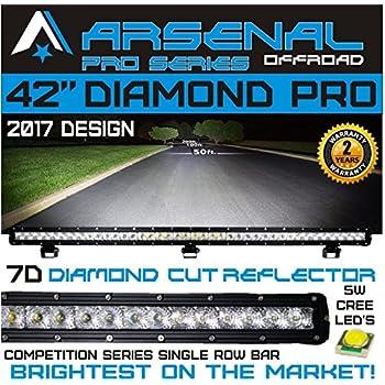 Amazon Com 1 42 Quot 7d Diamond Pro Series Single Row Led