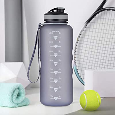 Artoid Mode 1500ml Motivational Fitness Workout Sports Water Bottle with Time Ma