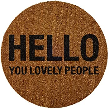 Amazon Com Au Funny Door Mats Sewer Cover Welcome