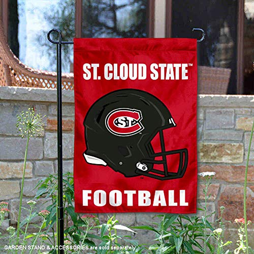 College Flags and Banners Co. St. Cloud State Huskies Football Helmet Garden Yard Flag