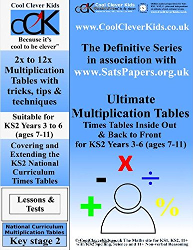 Ultimate Multiplication Tables: Times Tables Inside Out & Back To ...